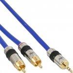 Kabel InLine 2x Cinch na Mini-Jack 3.5mm - 5m