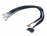 Akasa Flexa FP5S PWM Kabel (na 5 went.) z oplotem - 45cm