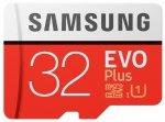 SAMSUNG EVO Plus 32GB microSD Karte (2017) [+SD-Adapter]
