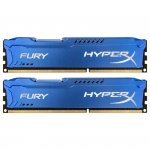 Kingston HyperX DIMM 16 GB DDR3-1600 Kit HX316C10FK2/16, Fury-Serie