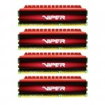 Patriot 16GB DDR4-2400 Quad-Kit, PV416G240C5QK, Viper 4
