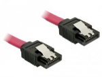 Delock Kabel SATA prosty/prosty red 30cm - 6GB/s
