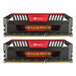 Corsair  8 GB DDR3-1600 Kit CMY8GX3M2A1600C9R, Vengeance Pro Red