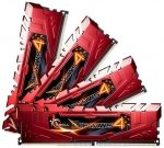 G.Skill DIMM 16 GB DDR4-2133 Kit,  rot, F4-2133C15Q-16GRR, Ripjaws 4 Red