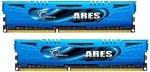 G.Skill DIMM 16 GB DDR3-2400 Kit F3-2400C11D-16GAB, ARES