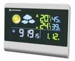 Bresser TemeoTrend Colour Radio Weather Station grey