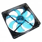 Cooltek CT-Silent Fan 140 LED niebieski 140x140x25, niebieski