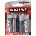 1x2 Ansmann Alkaline Mono D LR 20 red-line