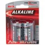 1x2 Ansmann Alkaline Baby C LR 14 red-line