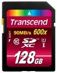 Transcend SD Card SDXC 128GB Class 10 / UHS-I