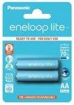 1x2 Panasonic Eneloop Lite Mignon AA 950 mAh