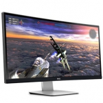 Dell Curved UltraSharp U3415W 86,5 cm (34'') LED Monitor  IPS-Panel, DisplayPort H