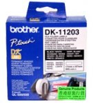 Brother Ordner/Register-Etiketten DK-11203 17x87 mm