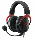 Kingston HyperX Cloud II Black Red - USB