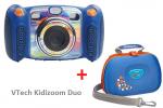 VTech Kidizoom Duo niebieski + Carry case w komplecie