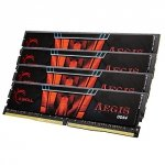 G.Skill 32 GB DDR4-2133 Quad-Kit F4-2133C15Q-32GIS, Aegis