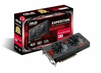 ASUS Expedition Radeon RX 570, EX-RX570-4G, 4GB GDDR5, DVI, HDMI, DisplayPort (90YV0AI1-M0NA00)