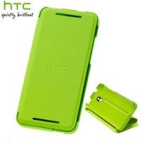 Etui dla HTC HC V851 One mini Flip case zielony
