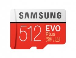 Samsung microSDXC EVO+ 512GB with Adapter MB-MC512GA/EU