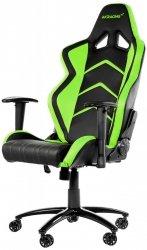 AKRACING Player Gaming Chair AK-K6014-BG czarny / zielony