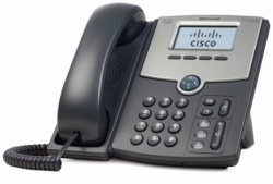 Cisco SPA512G VoIP PoE 1Ltg. Bksl