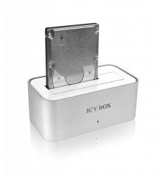 RaidSonic ICY BOX IB-111StU3-Wh USB 3.0 Dockingstation Alu