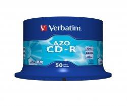 1x50 Verbatim Data Life Plus CD-R 80, 52x Speed, Spindle