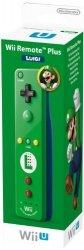 Nintendo Wii U Remote Plus Luigi Edition zielony