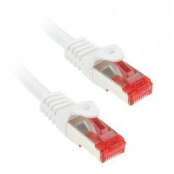 InLine 0,5m Cat.6 kabel sieciowy 1000 Mbit RJ45 - biały