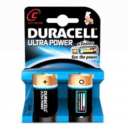 Duracell Ultra Power 2 szt., C