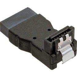 Adapter InLine SATA - męski / żeński kątowy w górę