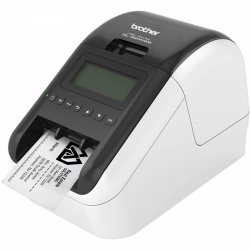 Brother QL-820NWB, Drukarka etykiet szary/czarny, USB 2.0, LAN, WIFI, Bluetooth