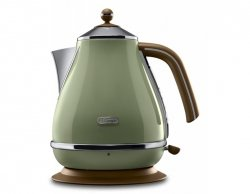 DeLonghi KBOV2001.GR Iconia Vintage Czajnik zielony