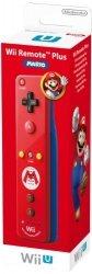 Nintendo Wii U Remote Plus Mario Edition red