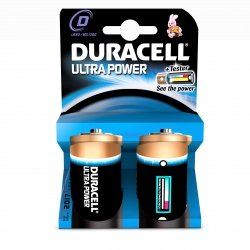 Duracell Ultra Power 2 szt., D