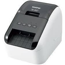 Brother QL-800, Drukarka etykiet szary/czarny, USB 2.0