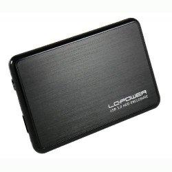 Obudowa 6.3cm (2,5) LC-POWER SATA>USB3.0 LC-25BUB3 (B)