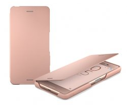 Sony SCR58 Style Cover Flip PINK dla Xperia X Performance