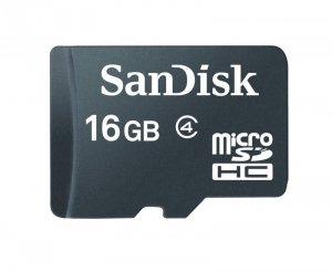 Sandisk microSDHC Card 16 GB czarny