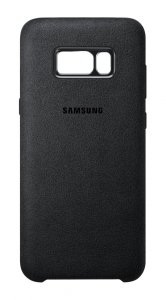 Samsung Alcantara Cover do Galaxy S8+, czarny