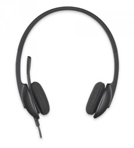 Logitech Stereo Headset H340 Czarny