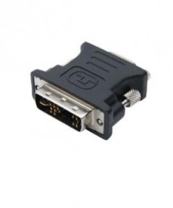 Club 3D Adapter DVI-I na VGA czarny