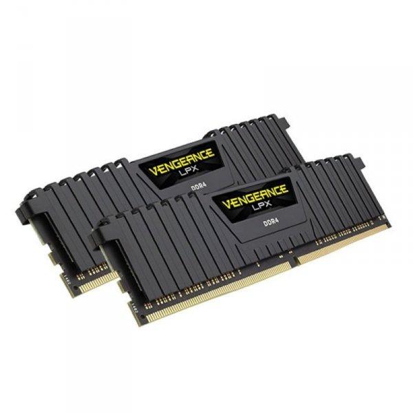 Corsair  8GB DDR4-3600 Kit, czarny, CMK8GX4M2B3600C18, Vengeance LPX