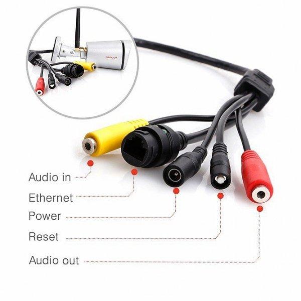 Foscam FI9800P zewnętrzna kamera IP WiFi