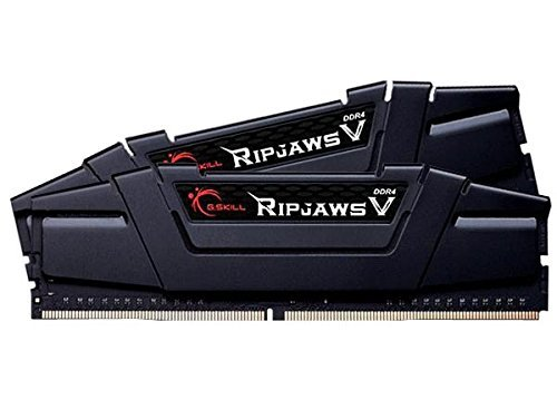 G.Skill 16GB DDR4-3400 Kit, czarny, F4-3400C16D-16GVK, Ripjaws V