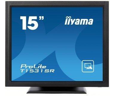 iiyama ProLite T1531SR-B3, LCD-Monitor czarny, Touchscreen, DVI-D, Sound