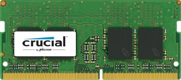 Crucial 4GB DDR4 2133 MT/s SODIMM 260pin SR x8 unbuffered
