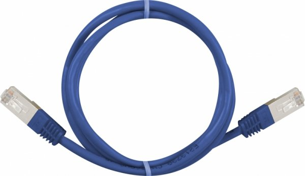Sharkoon RJ45 Kabel Sieciowy CAT.5e SFTP blue 0,25m