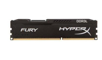 Kingston HyperX 4GB DDR3L-1866, HX318LC11FB/4, Fury Black