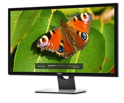 Dell S2817Q, czarny/srebrny, 4K, DisplayPort-In/Out, HDMI (MHL), USB